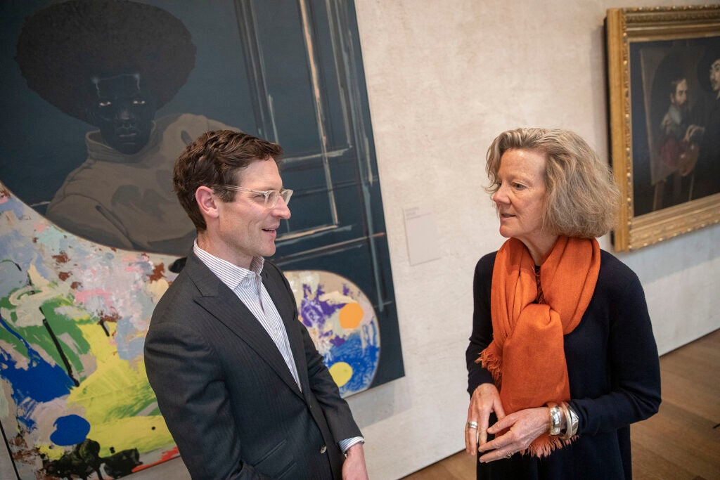 Ethan Lasser, the Theodore E. Stebbins, Jr., Curator of American Art and Mary Schneider Enriquez, Houghton Associate Curator of Modern and Contemporary Art discuss Marshall's work.