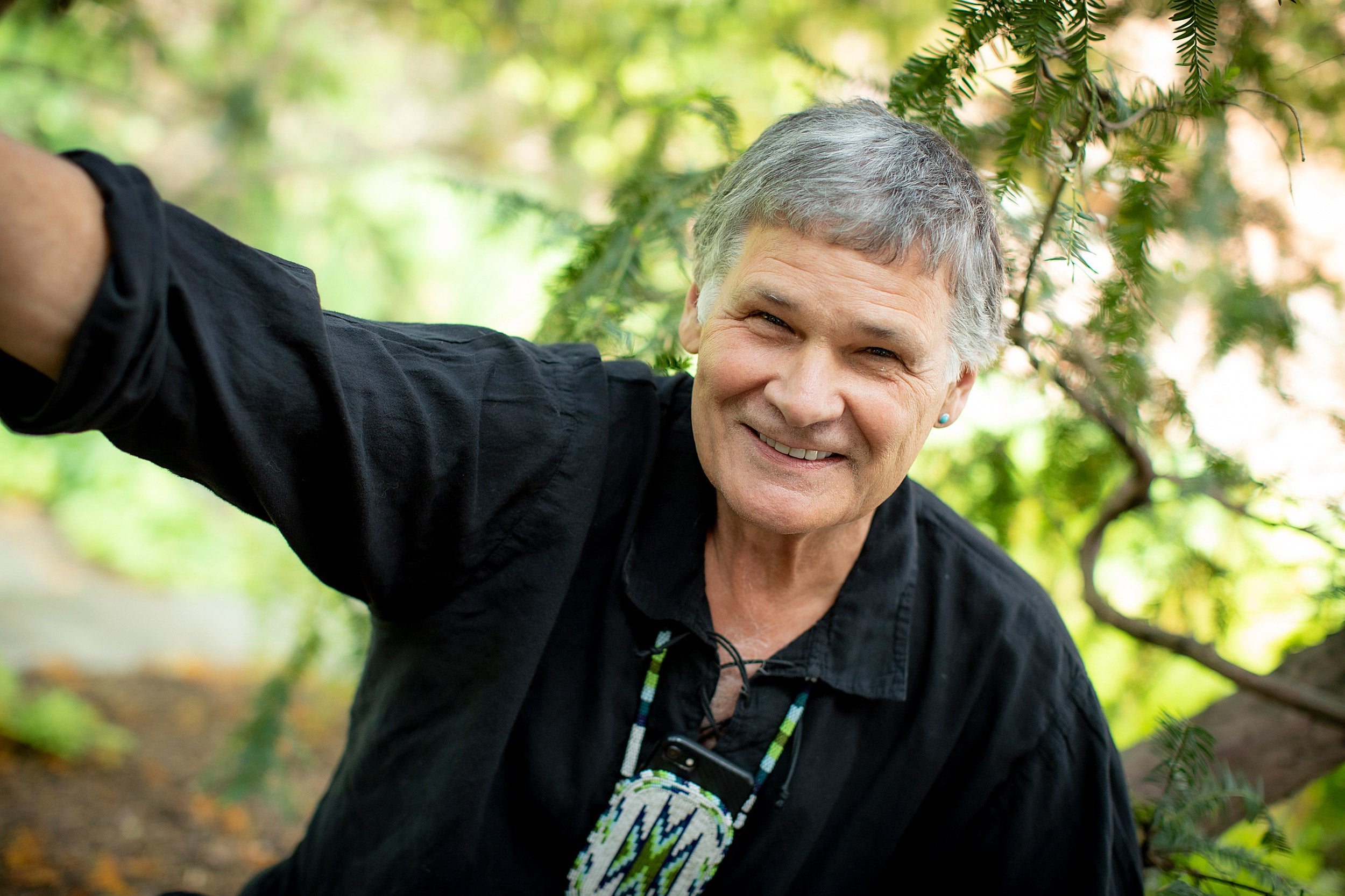 Retiring Kennedy School professor looks to help his Native American brethren