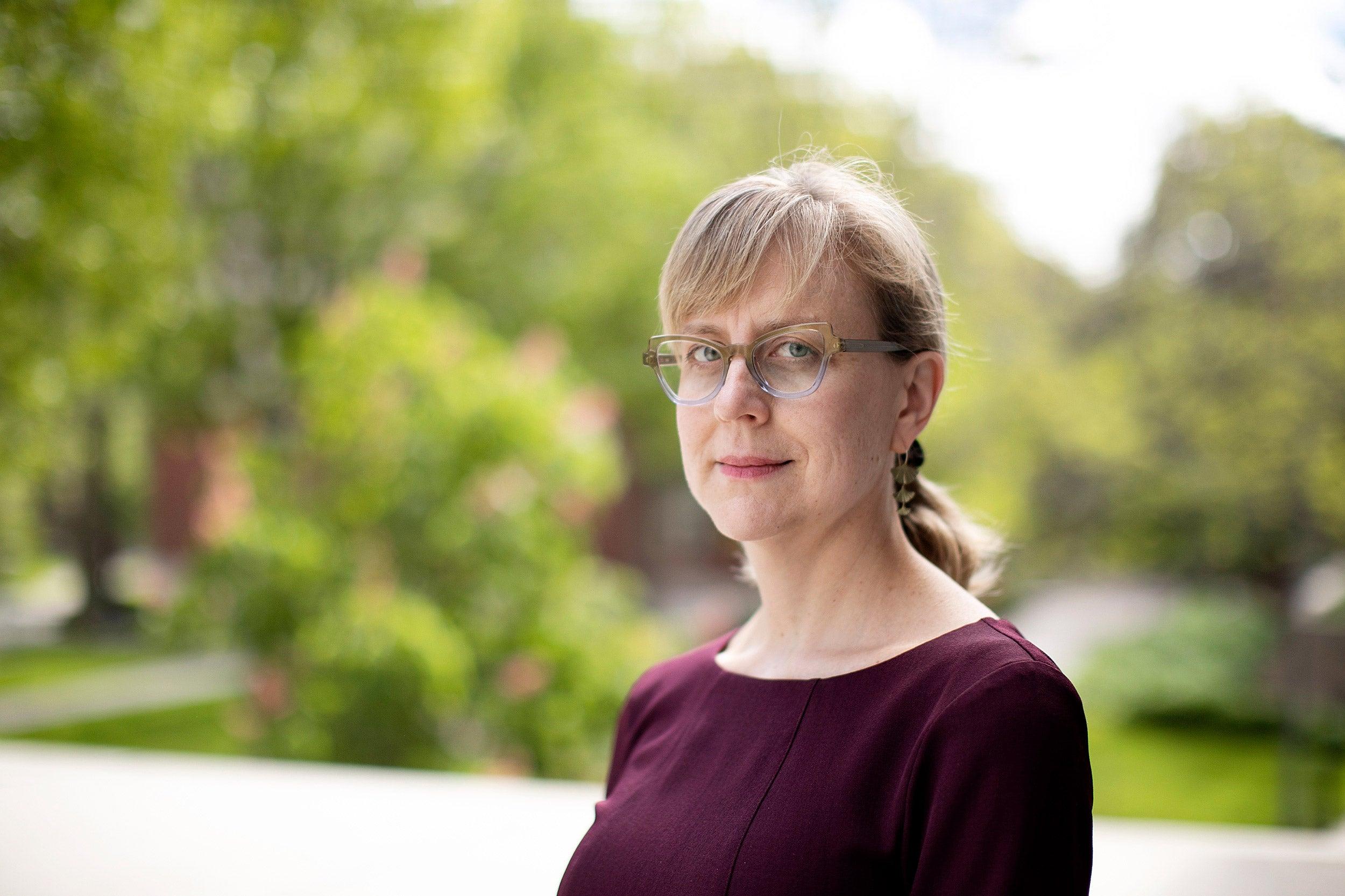 Amanda Claybaugh portrait