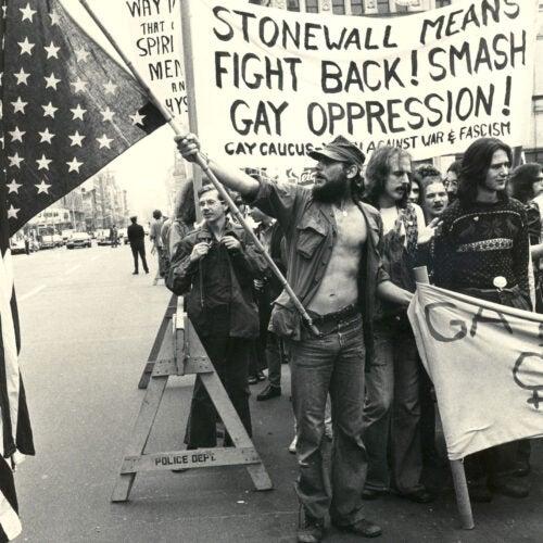 Stonewall protestors