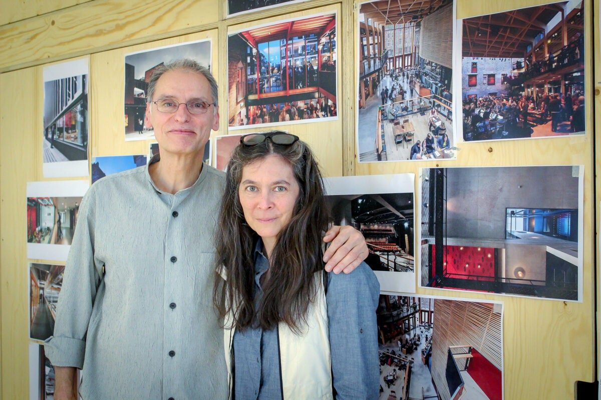 Steve Tompkins and Diane Paulus