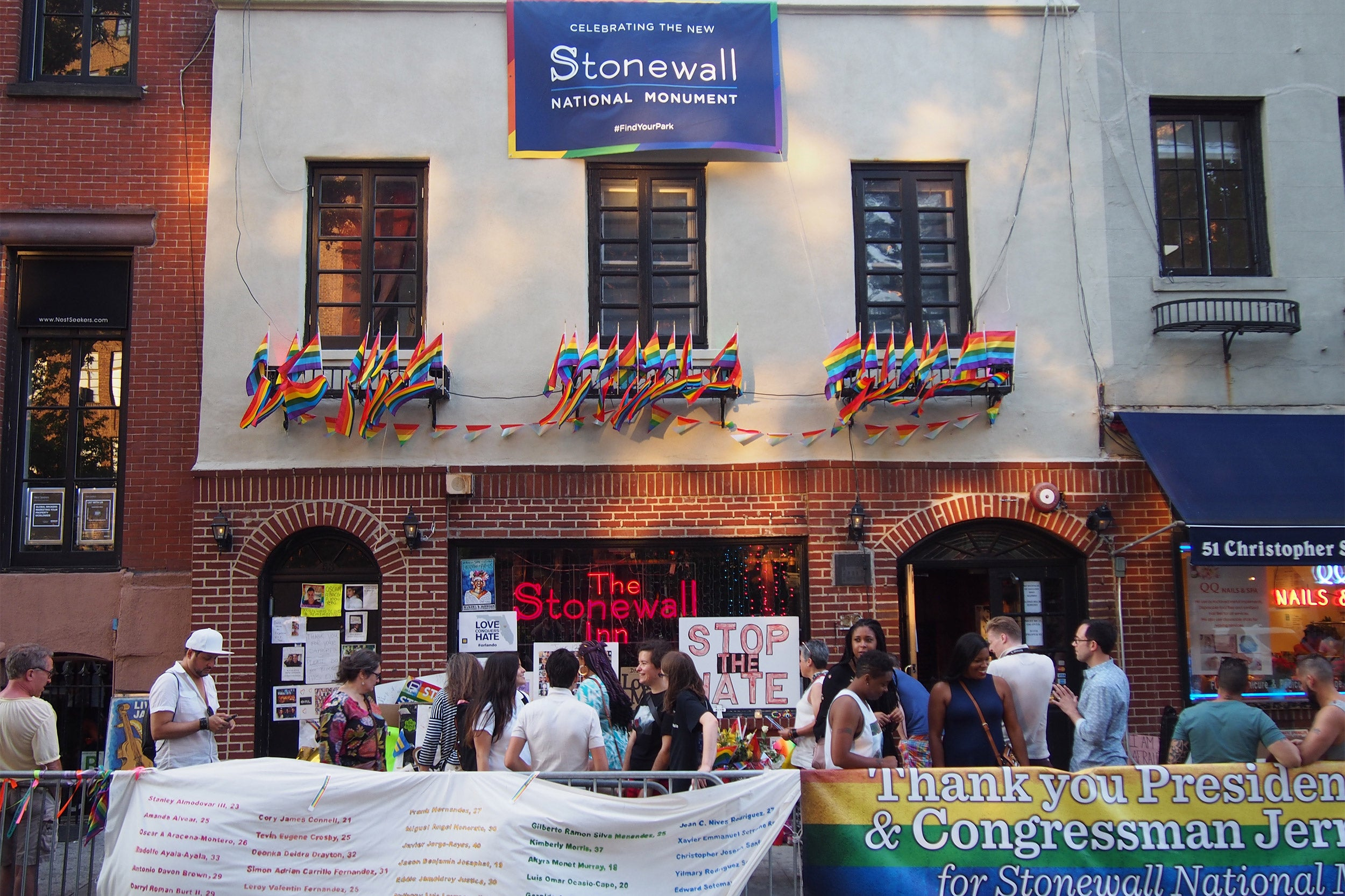 The Stonewall Inn in Greenwich Village in 2011