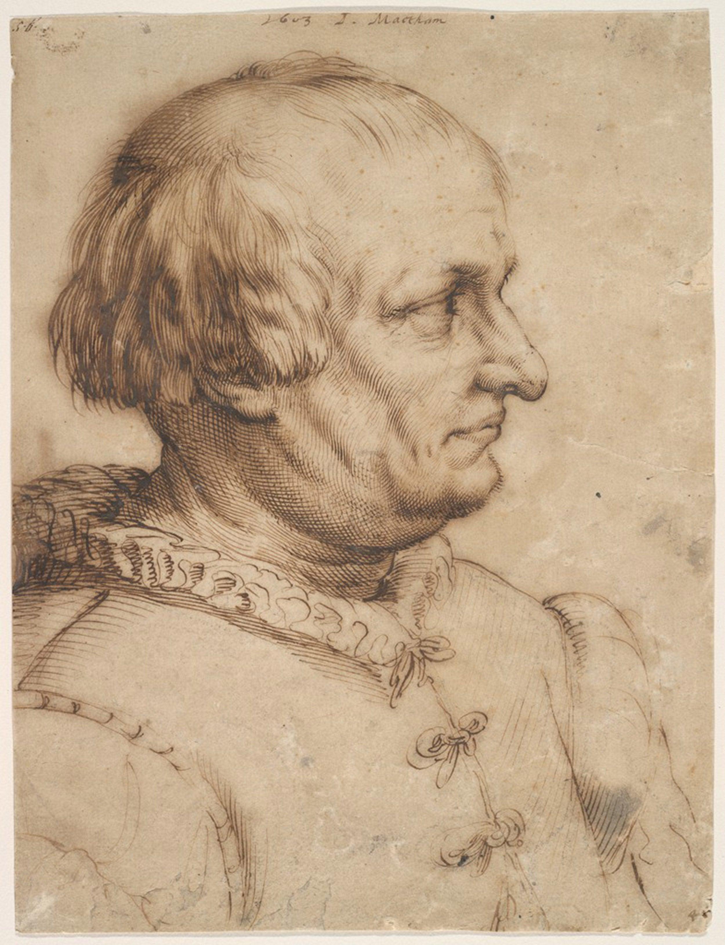 Portrait of a Man by Jacob Matham