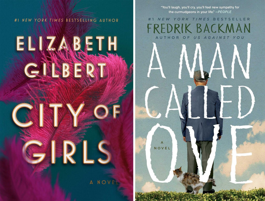 City of Girls and A Man Called Ove book covers