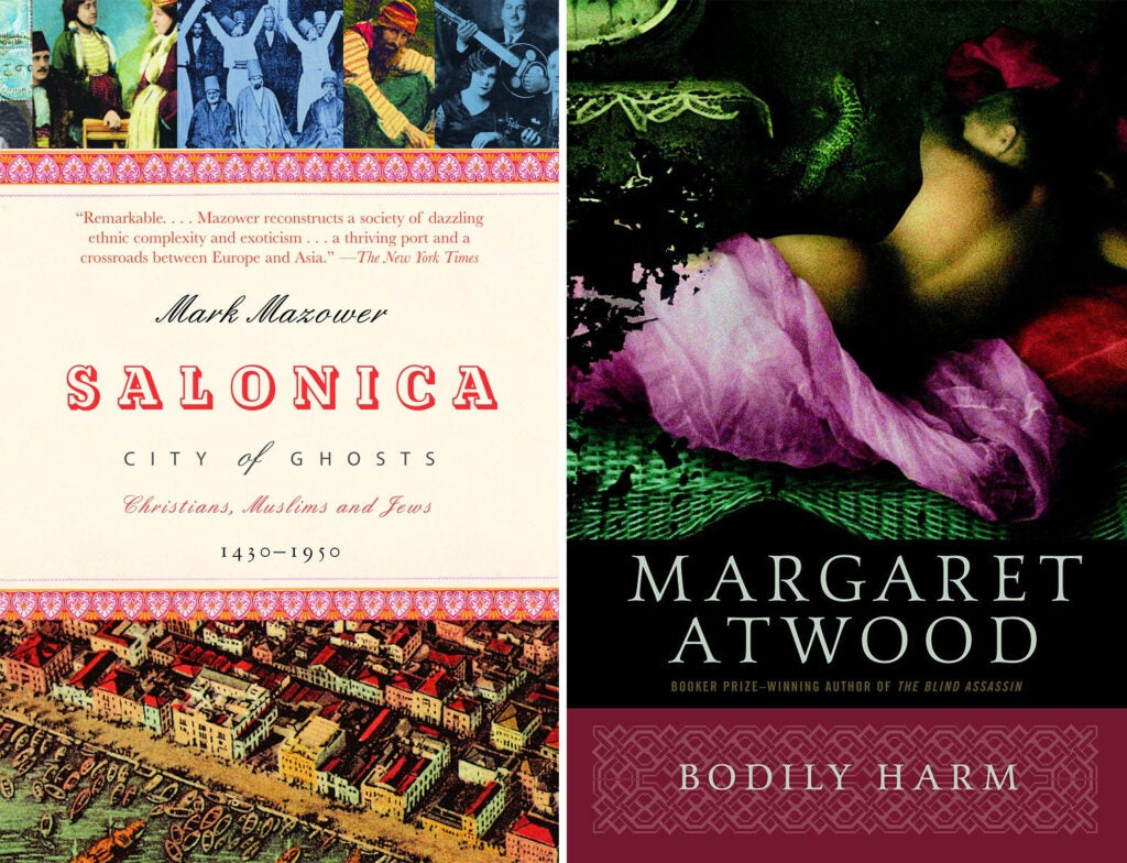 Salonconia and Bodily Harm book covers