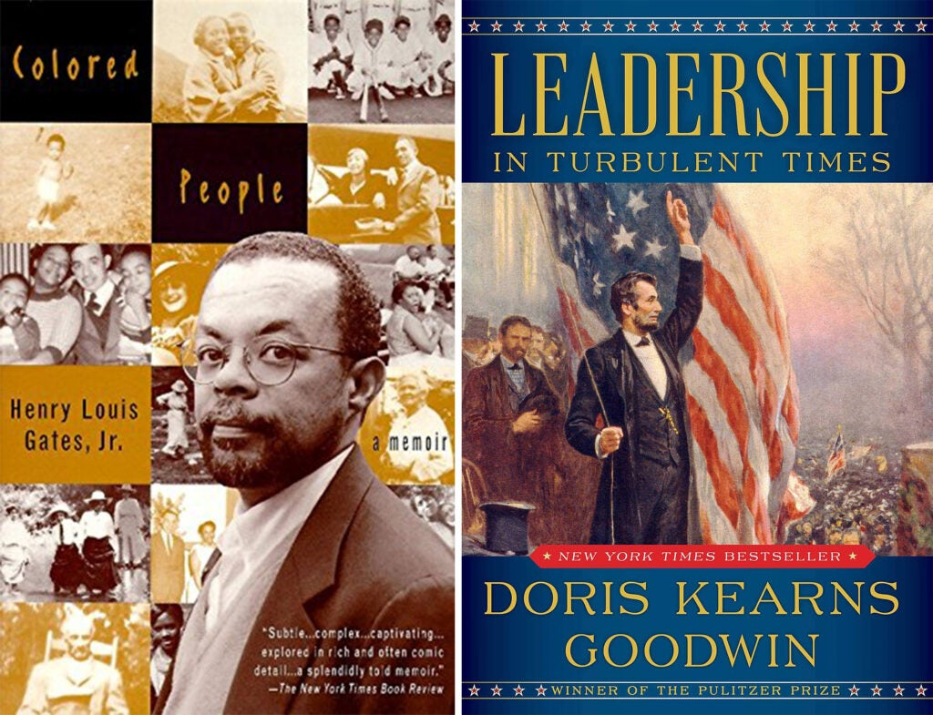 Colored People and Leadership book covers