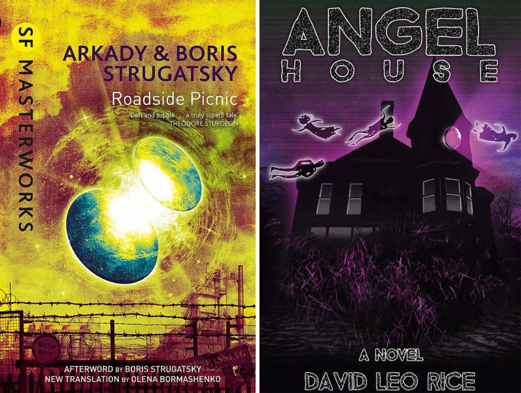 Roadside Picnic and Angel House book covers