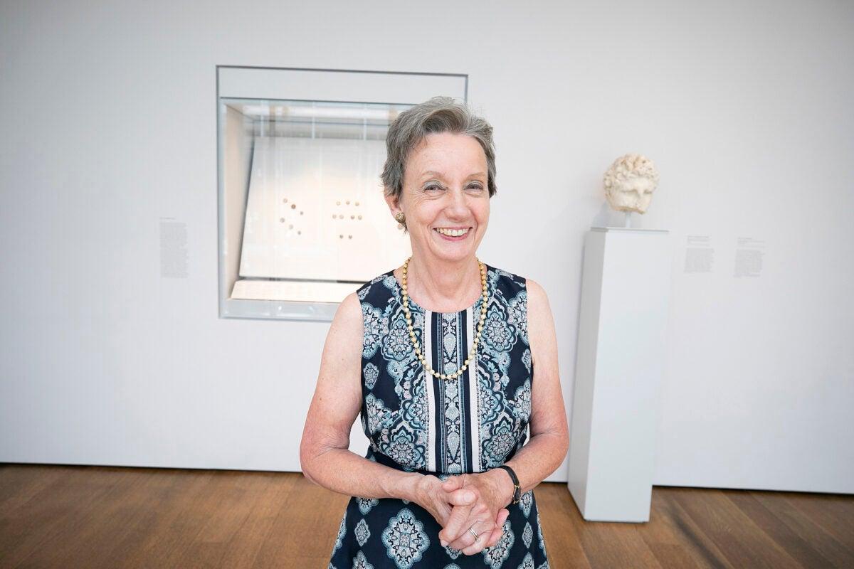 Harvard Art Museums coin curator