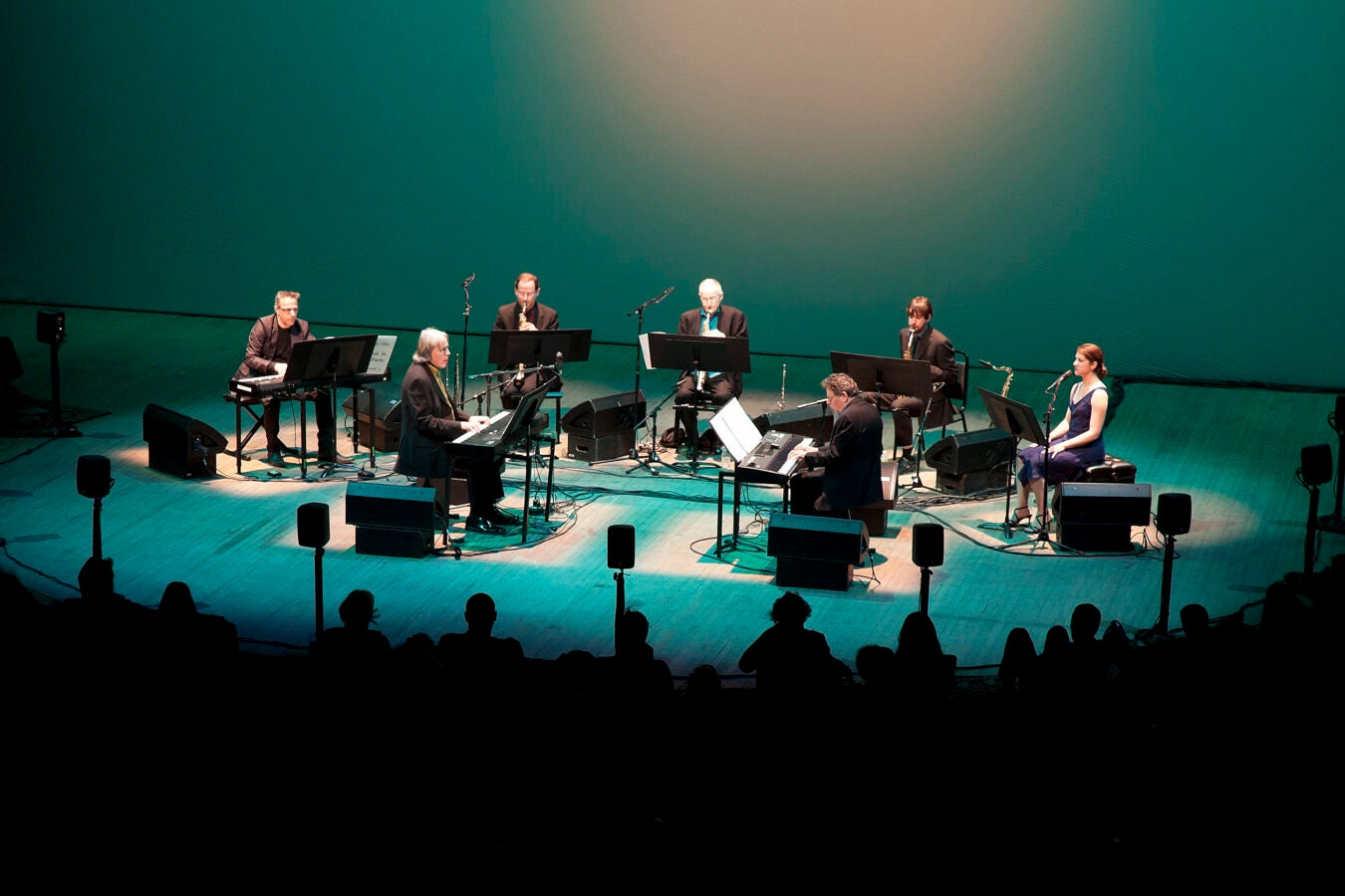 Ensemble onstage