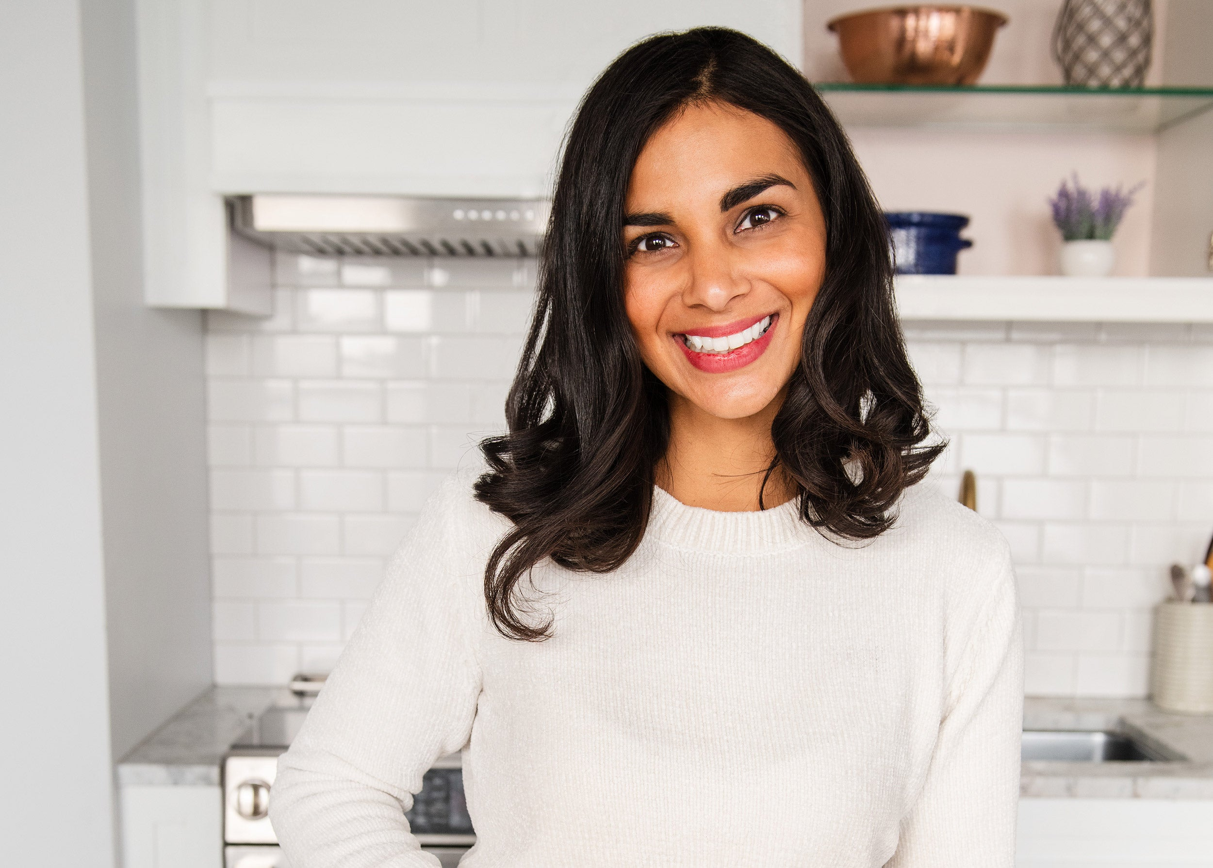Harvard Law School grad Nisha Vora '12 left law to explore vegan cooking and cuisine.
