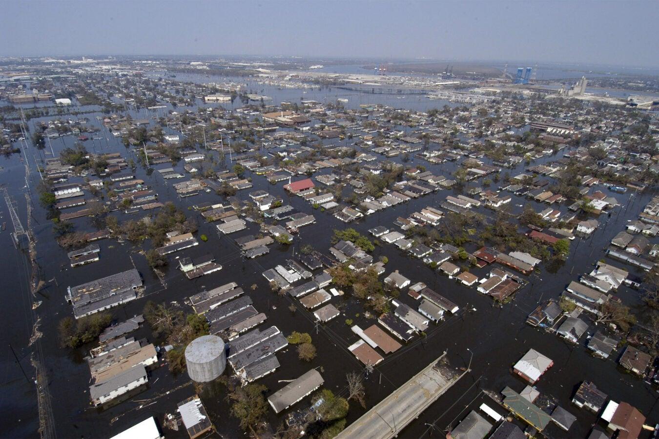 New Orleans following Hurricane Katrina