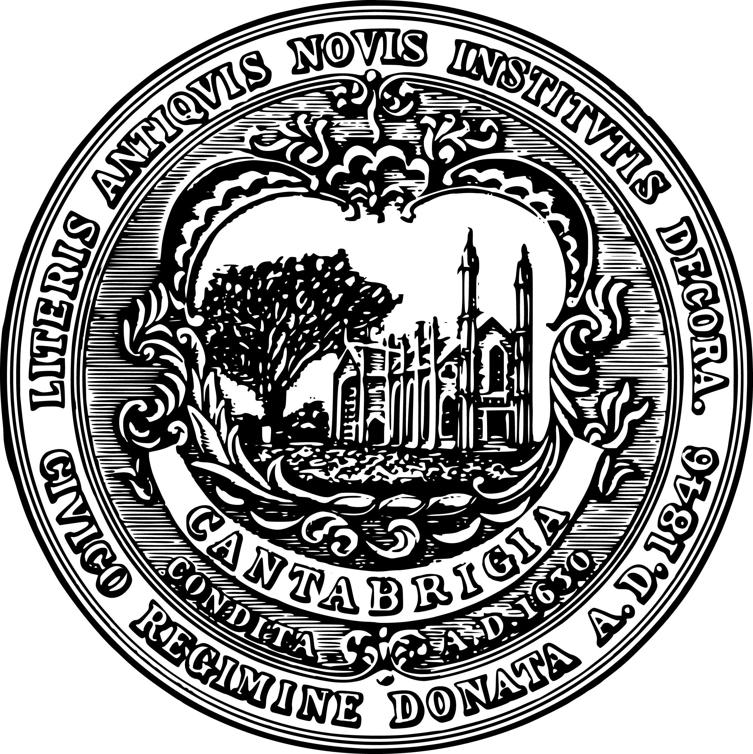 City of Cambridge seal.