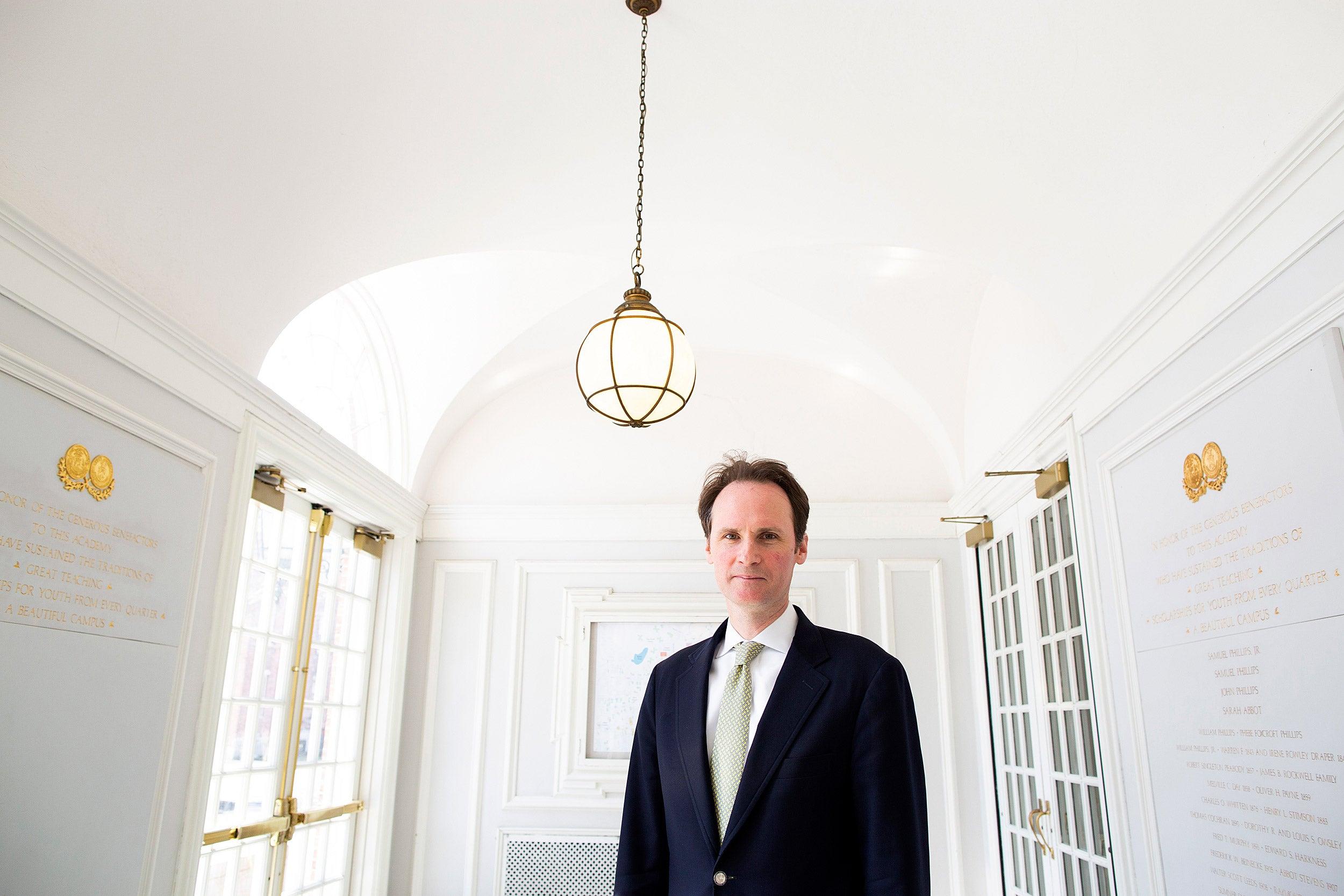 Former Harvard Law School professor John Palfrey is the new head of the MacArthur Foundation.