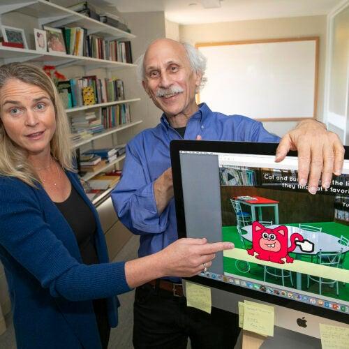 Joe Blatt and Meredith Rowe