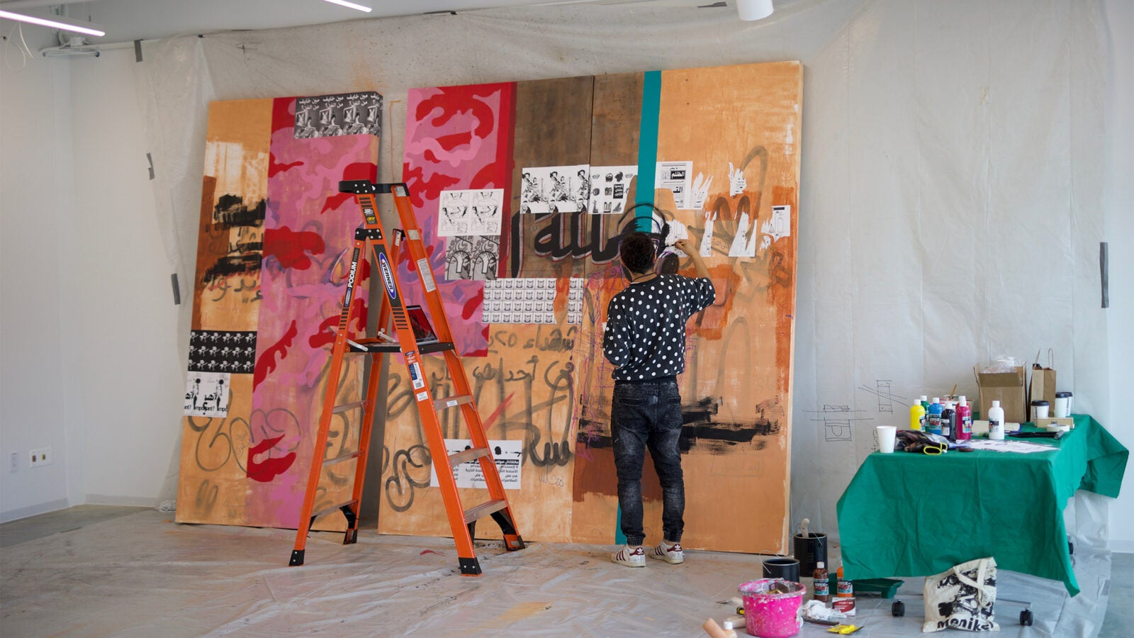 A series of open houses will let visitors see how the ArtLab brings together artists and academics.