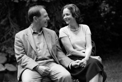 Arthur Kleinman and his wife