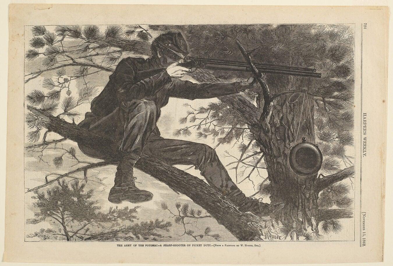 Winslow Homer's Sharpshooter