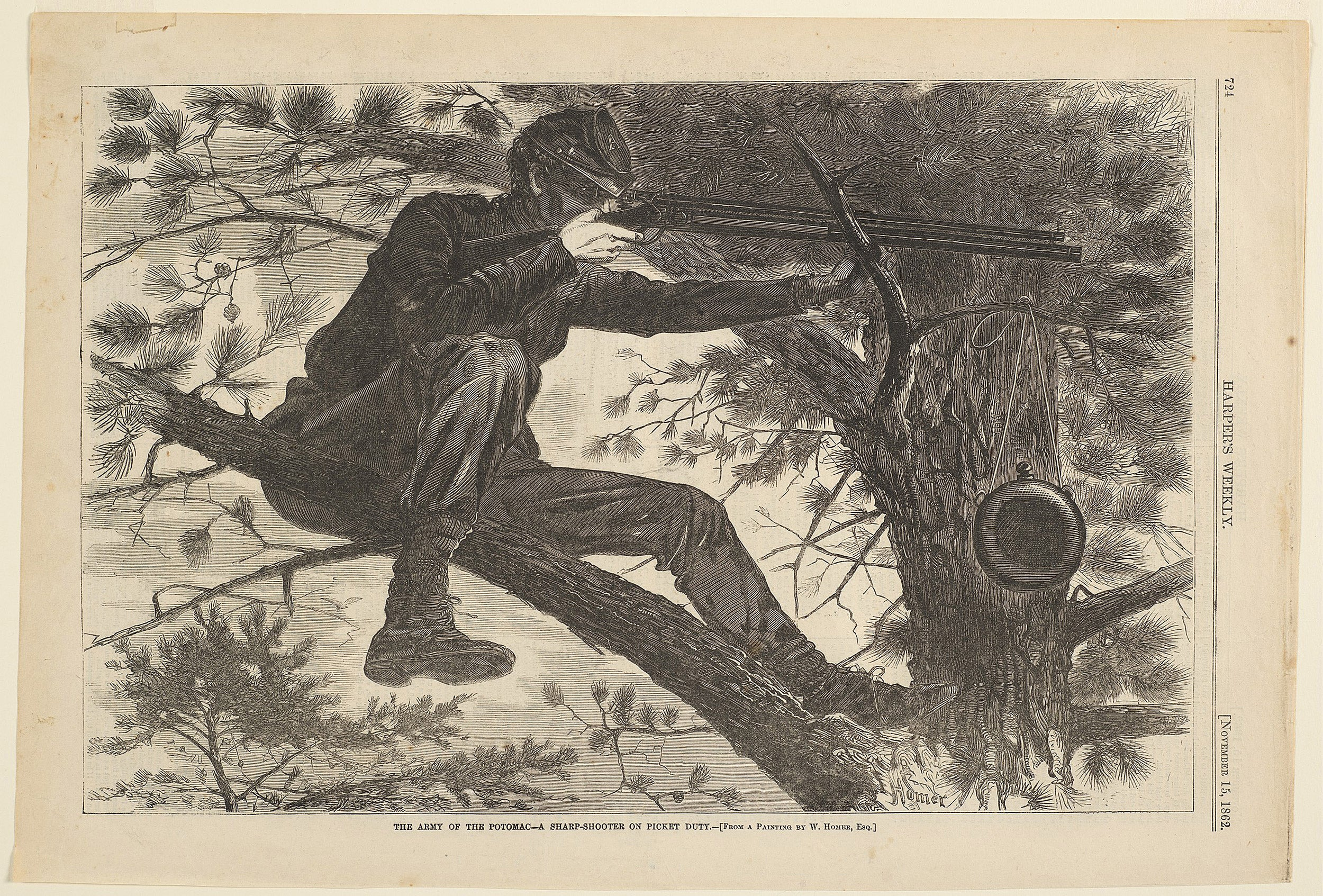 Winslow Homer's Sharpshooter