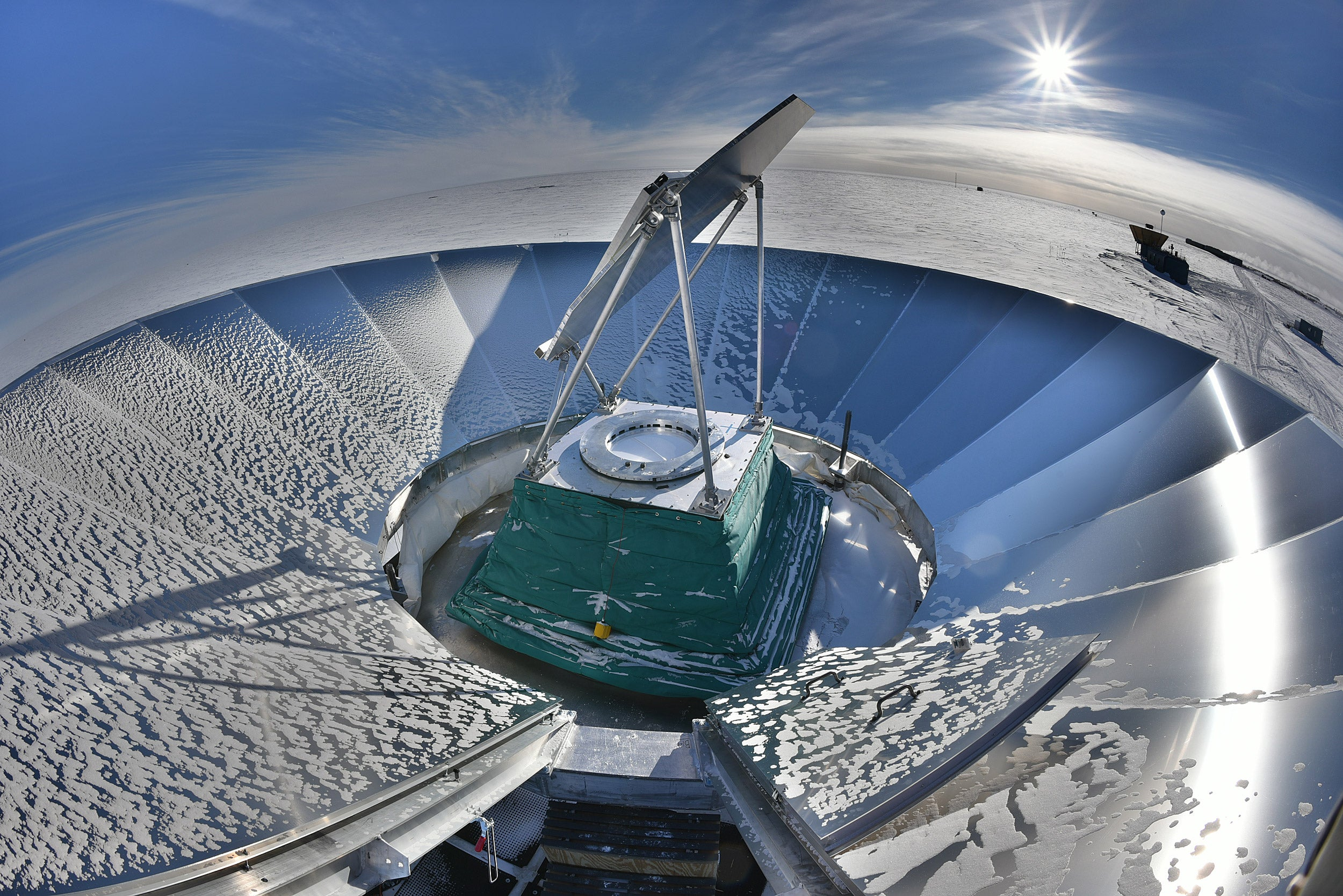 BICEP3 telescope.