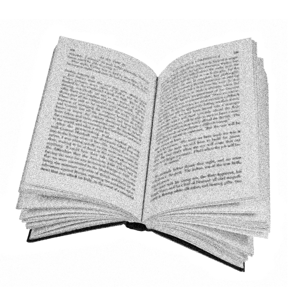 illustration of an open book.
