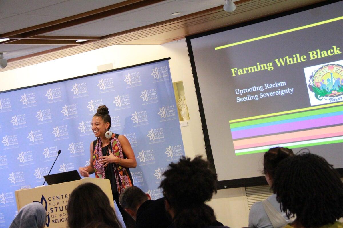 Food activistFood activist, Leah Penniman Leah Penniman