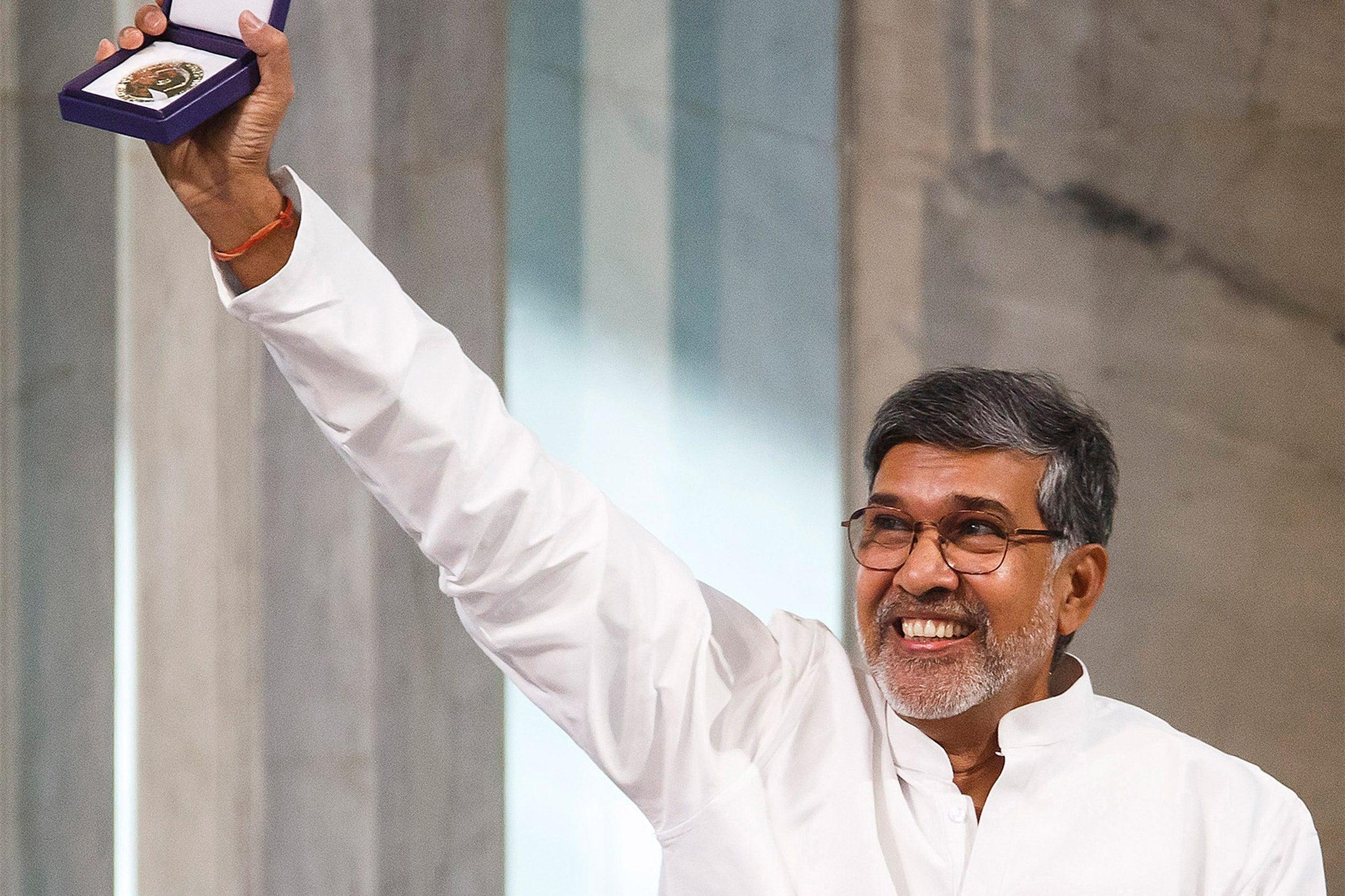 Peace Prize joint-winner Kailash Satyarth