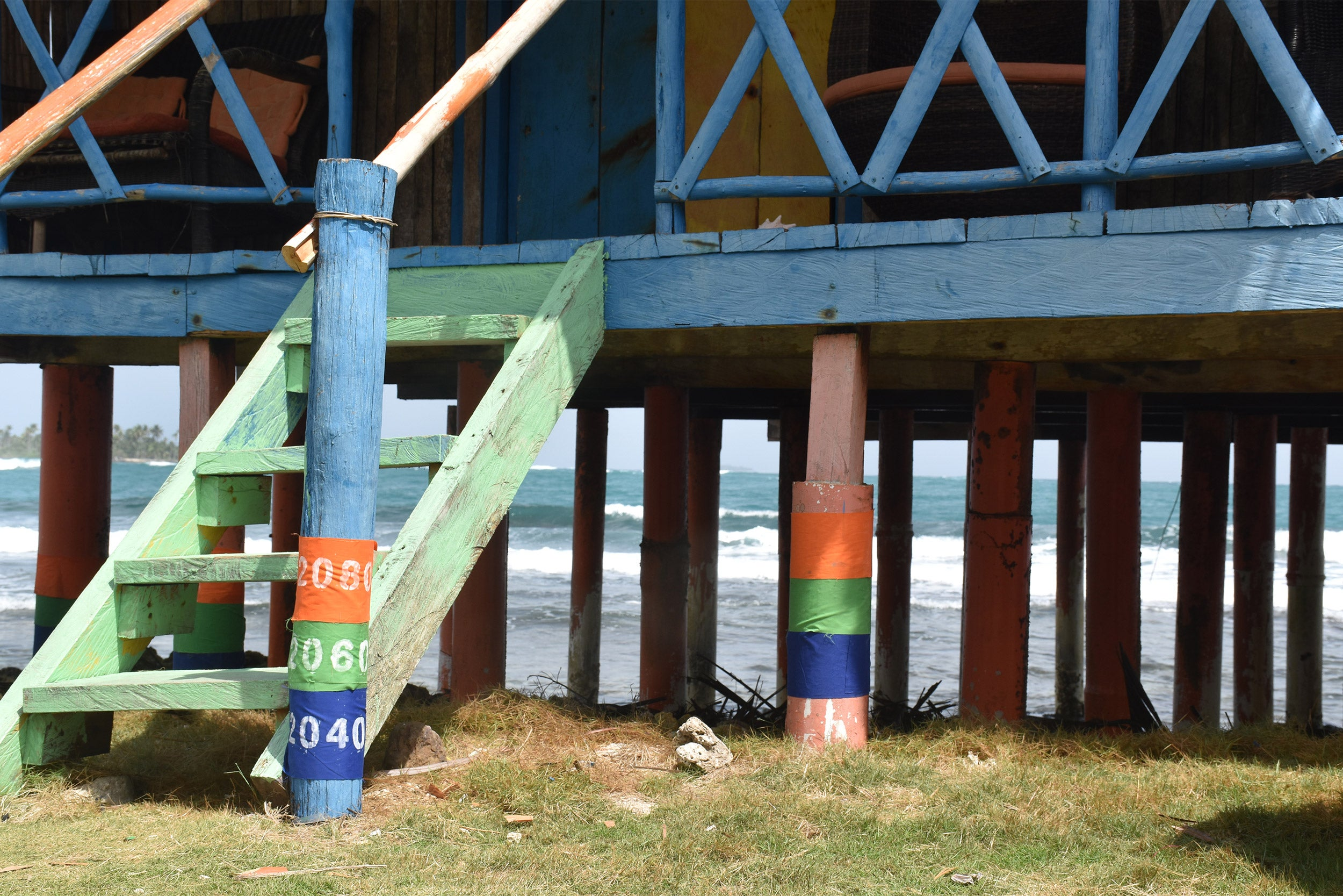 Rising Waters in Provincetown art project