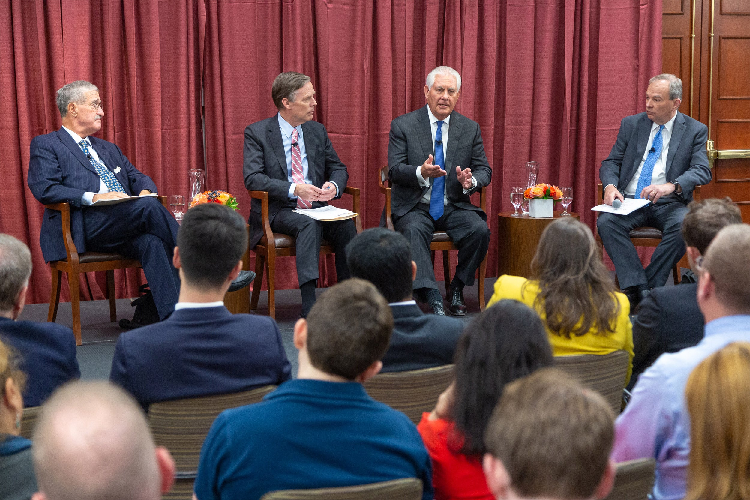 Panel with Rex Tillerson