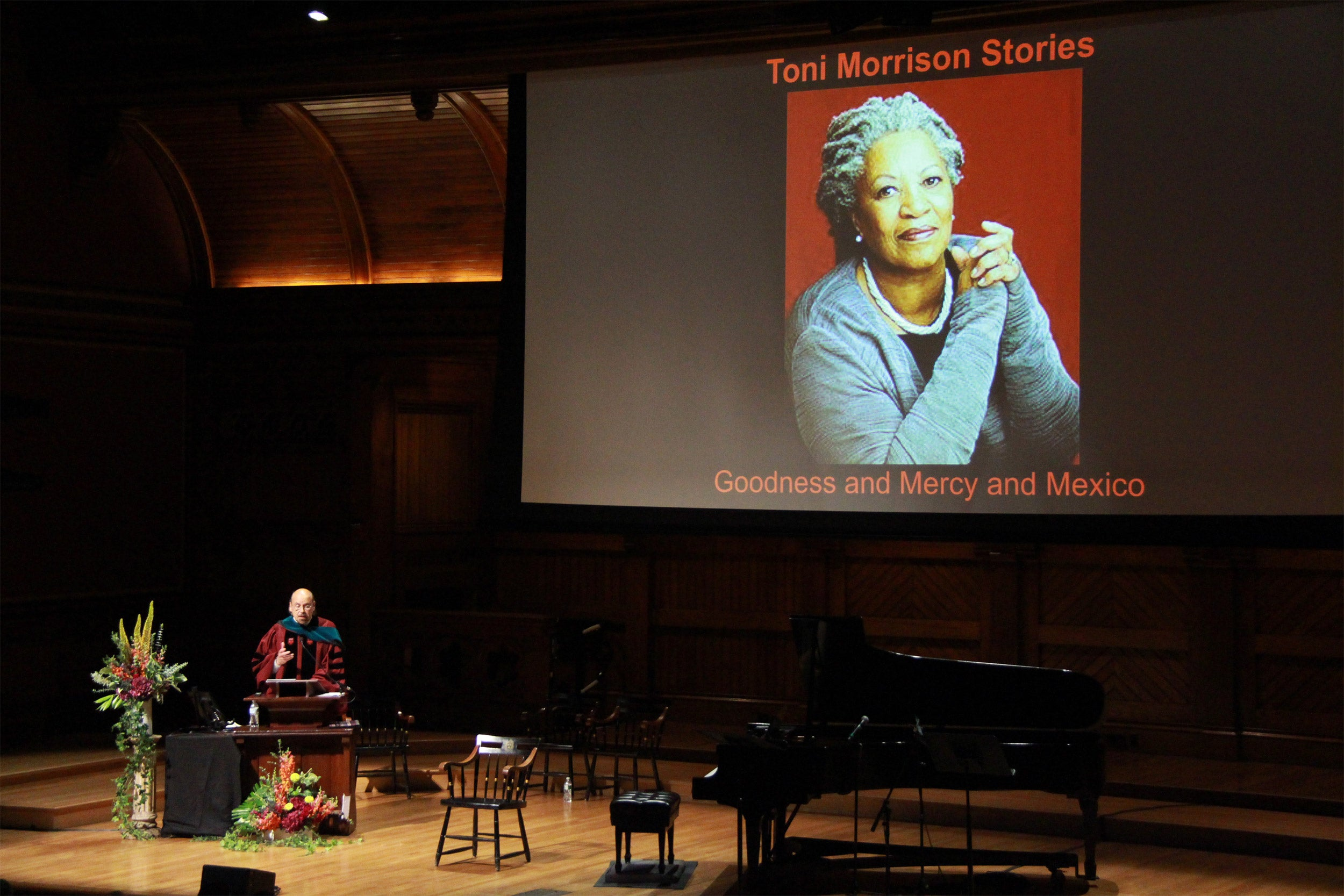 Toni Morrison's lessons take center stage at HDS Convocation