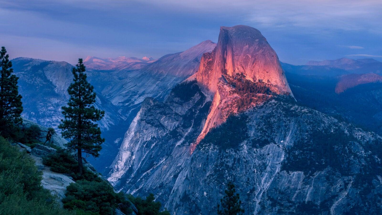 Glacier Point at Yosemite National Park.