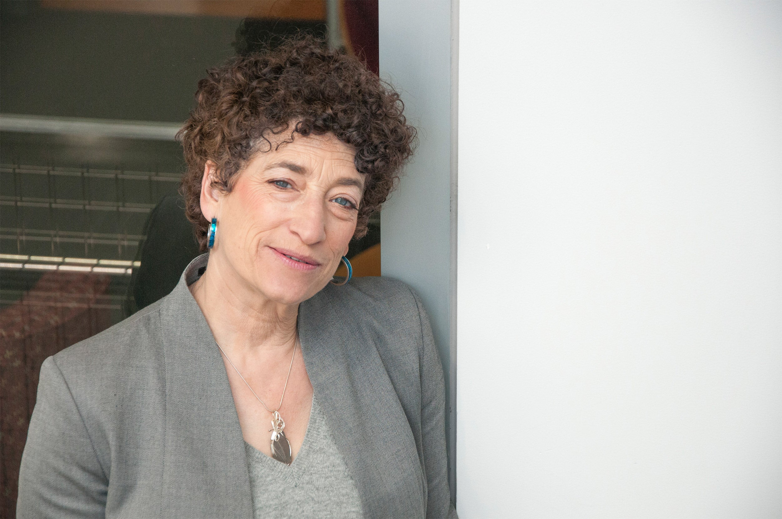 "Portrait of Naomi Oreskes, author of ""Why Trust Science?"""