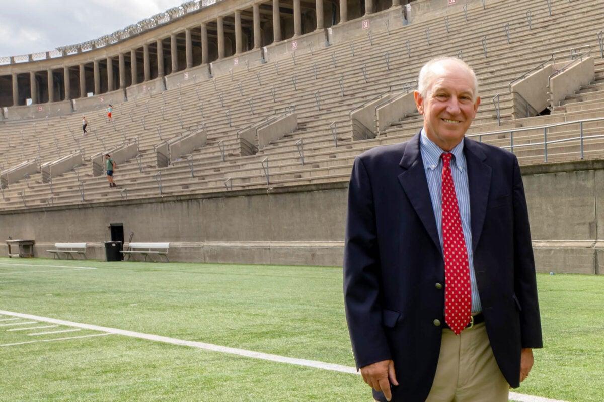 Athletics director Bob Scalise