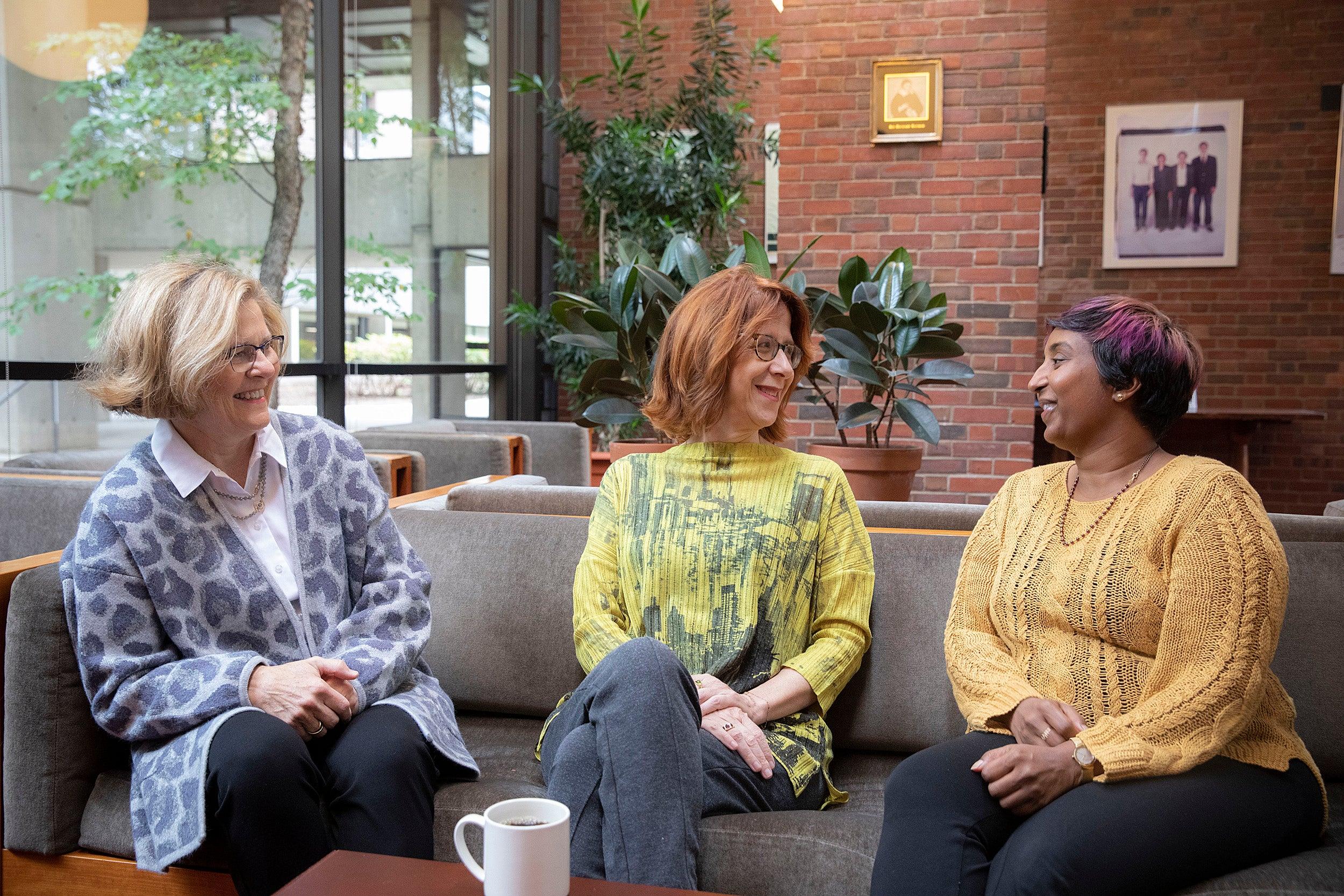 Barbara Lewis, Catherine Shapiro, and Sindhu Revuluri