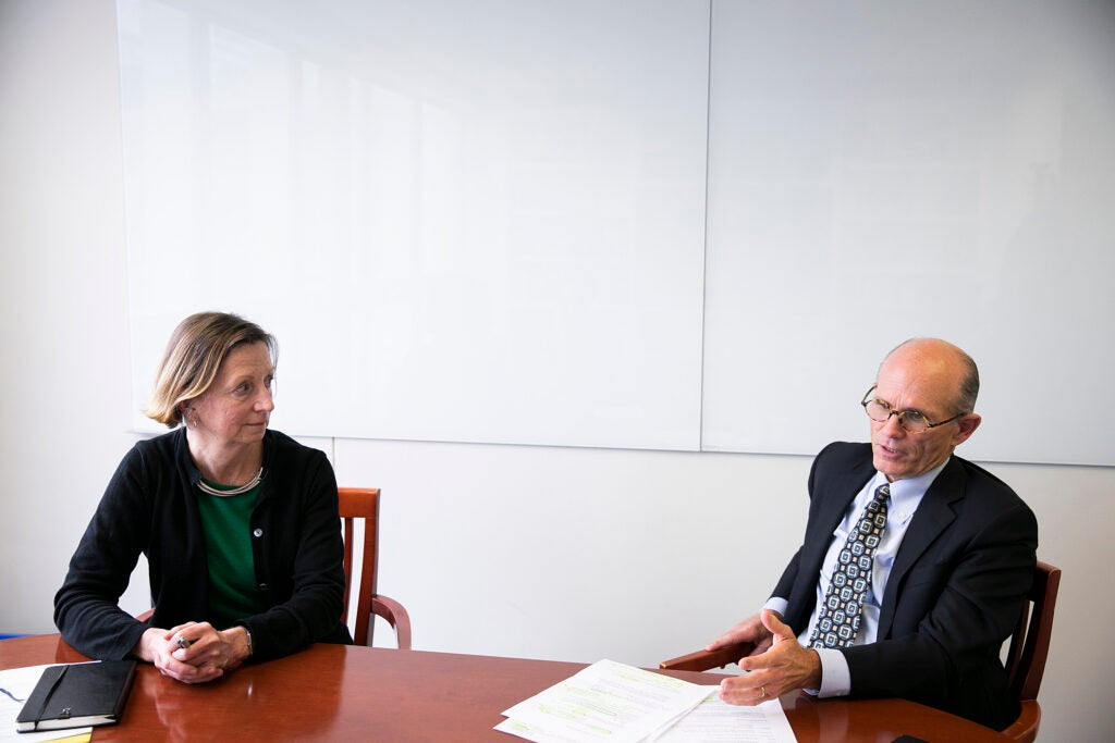 Harvard University's Executive Vice President Katie Lapp and Chief Financial Officer and Vice President for Finance Tom Hollister speak about Harvard's annual financial performance.