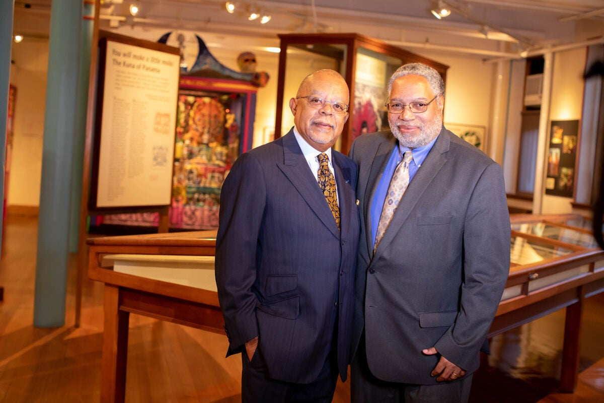 Lonnie Bunch and Henry Louis Gates, Jr.