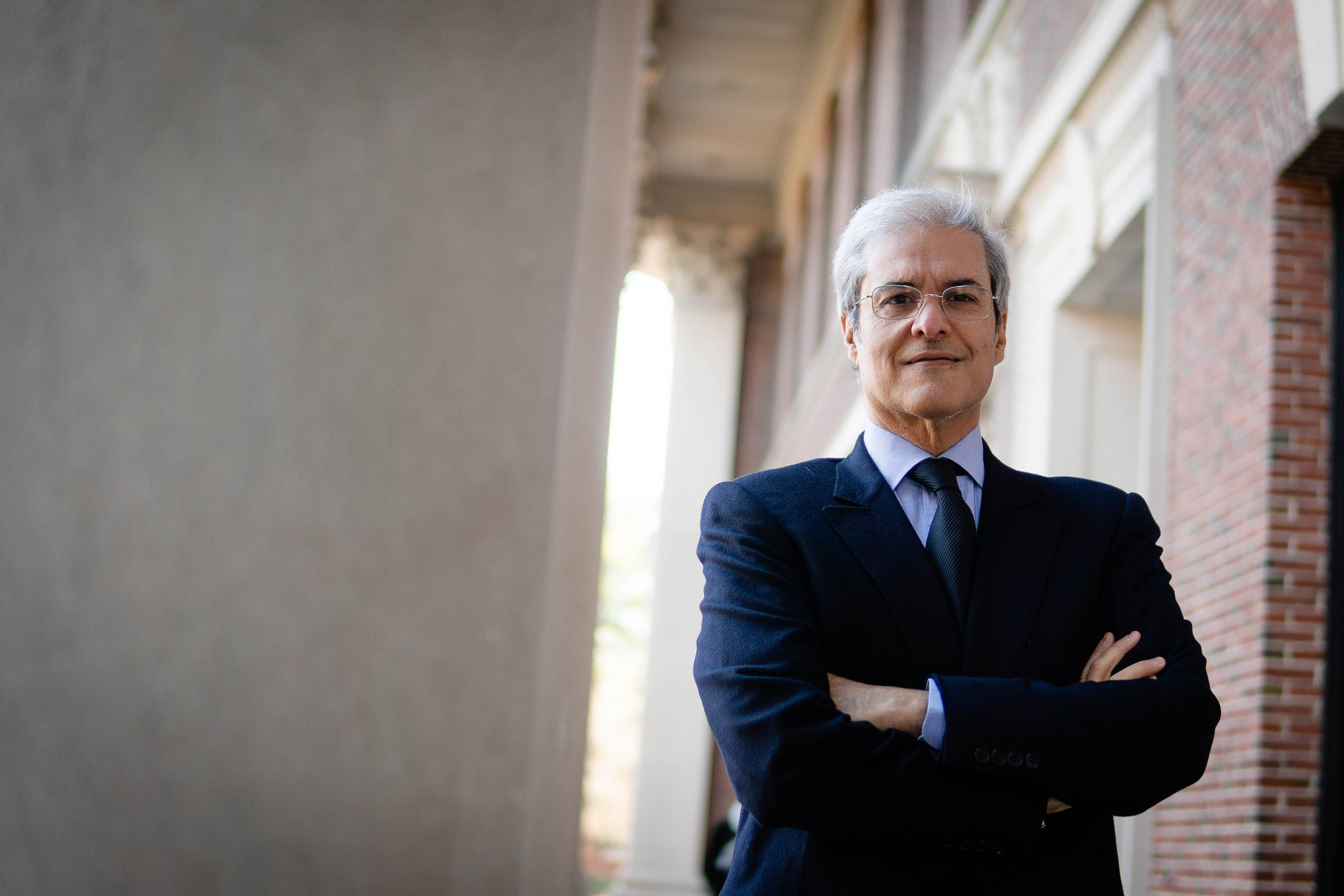 Morocco's Prince Moulay Hicham el Alaoui relinquished his title to press for democratic principles. An associate of Harvard's Weatherhead Center for International Affairs, Alaoui is an activist for democratic reform in the Arab world.