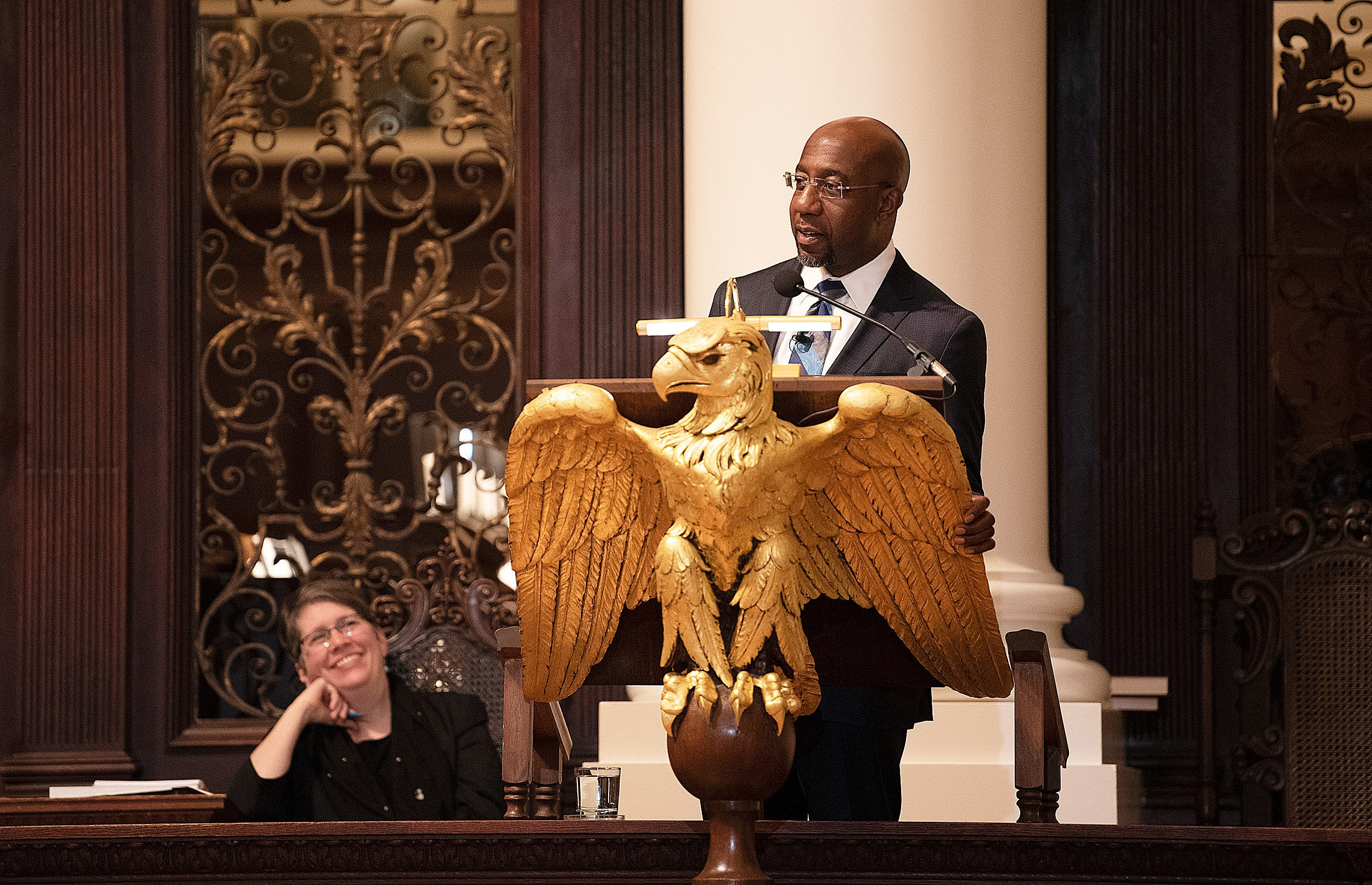The Rev. Raphael G. Warnock takes aim at nation's prisons