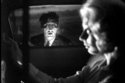"Scene from ""Carnival of Souls."""