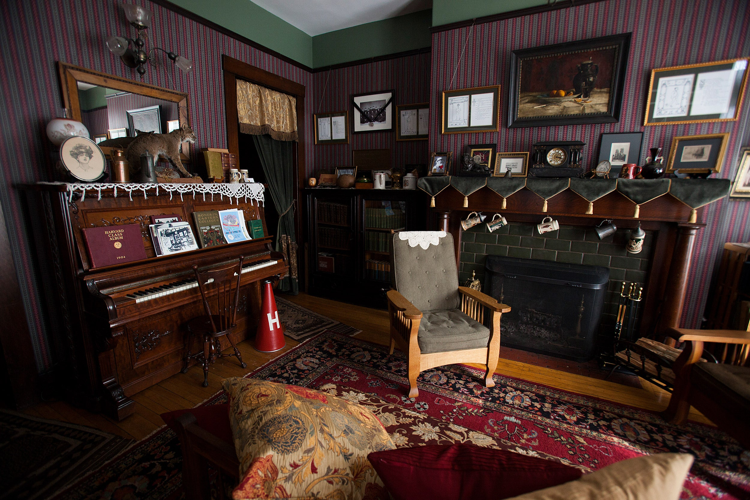 Franklin Delano Roosevelt room at Adams House.