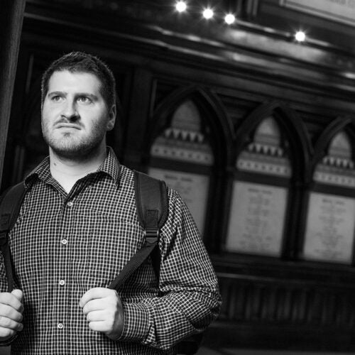 Alex Walsh in Memorial Hall.