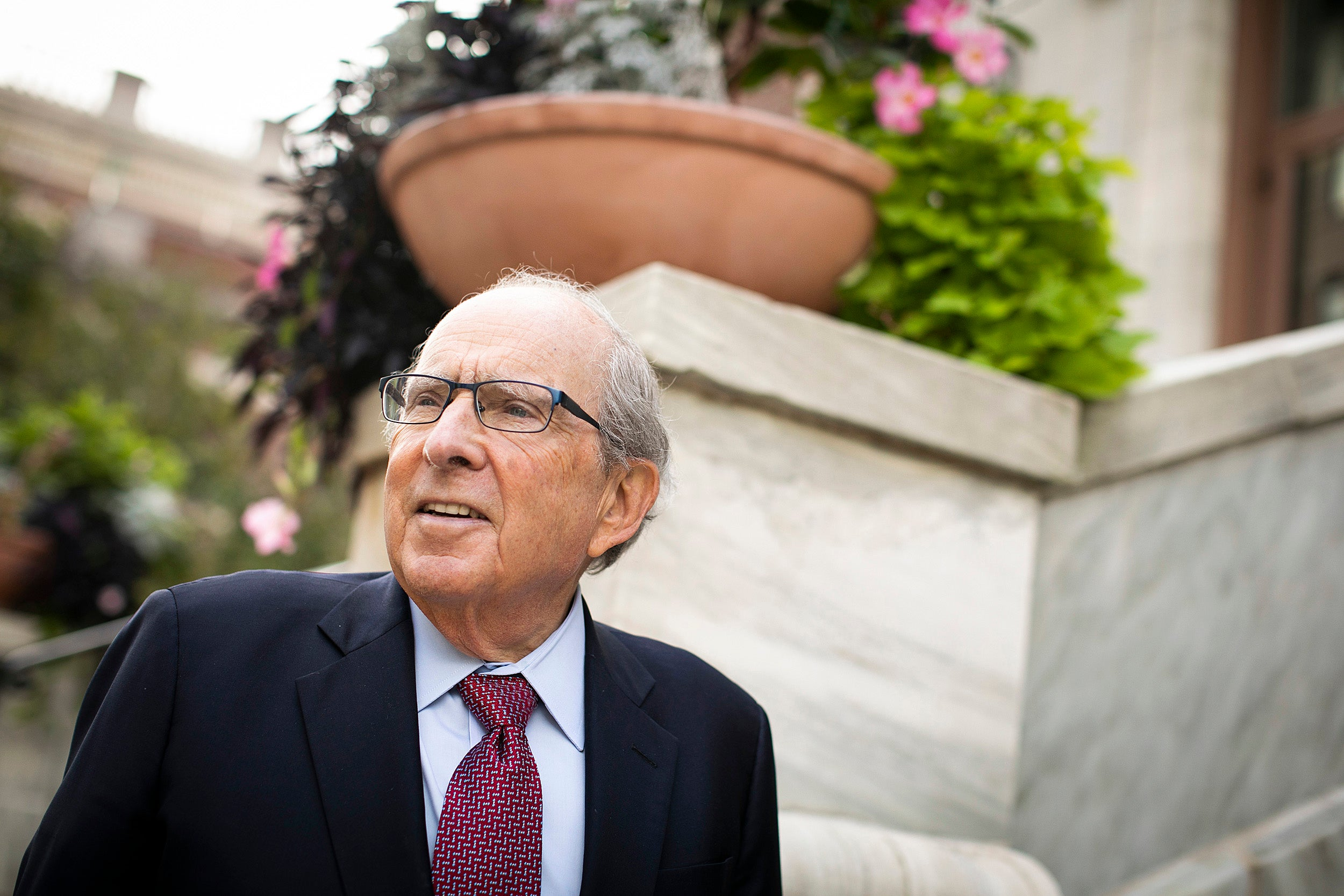 Portrait of Harvard School of Dental Medicine Dean Bruce Donoff