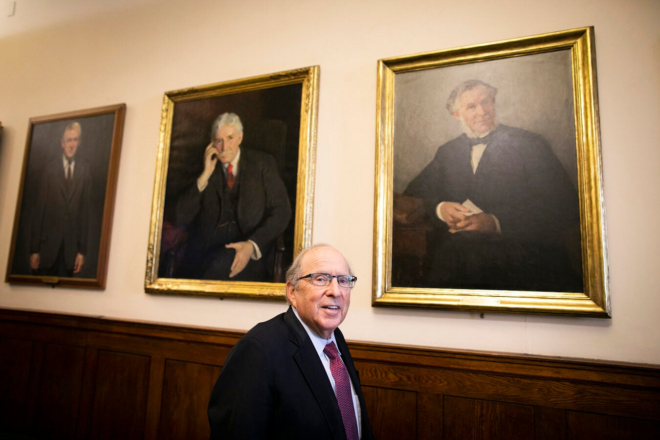 Harvard School of Dental Medicine Dean Bruce Donoff.
