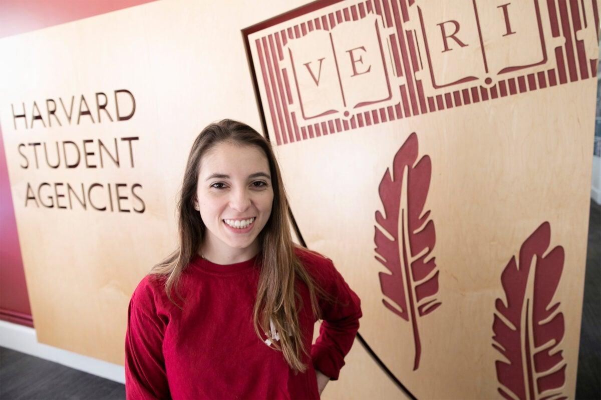 Harvard student Jenny Leight.