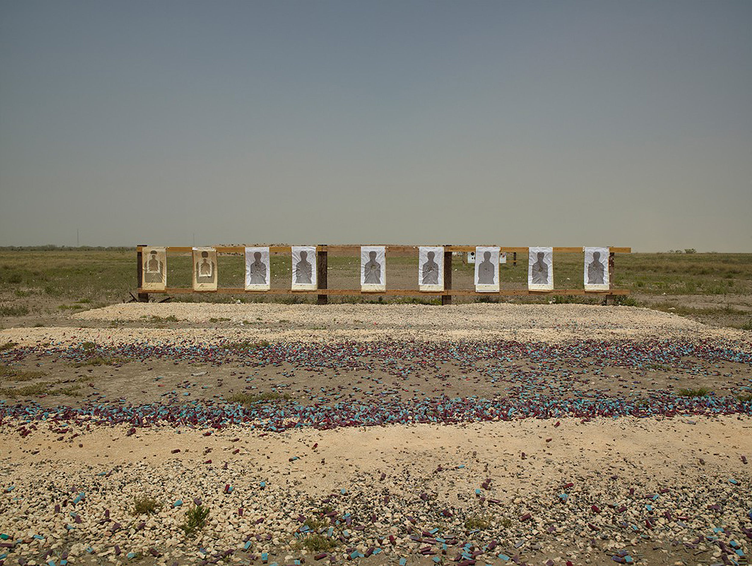 A target range near the U.S.-Mexico border.