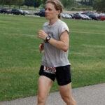 Jenny Hoffman runs.