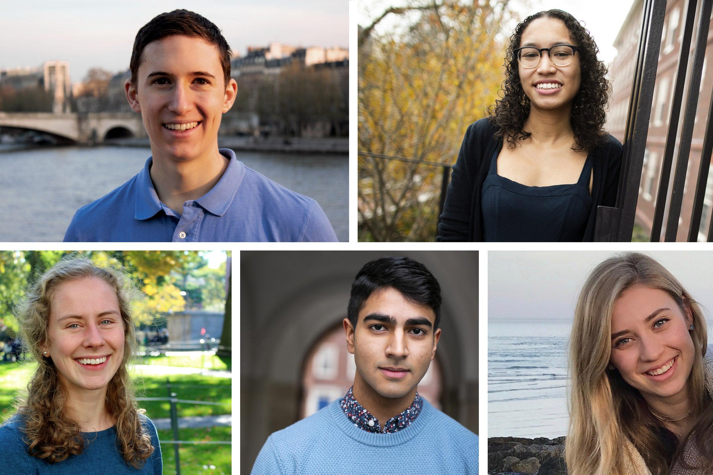 American Rhodes Scholars from Harvard.