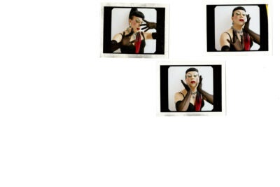 Joey Arias Polaroids.