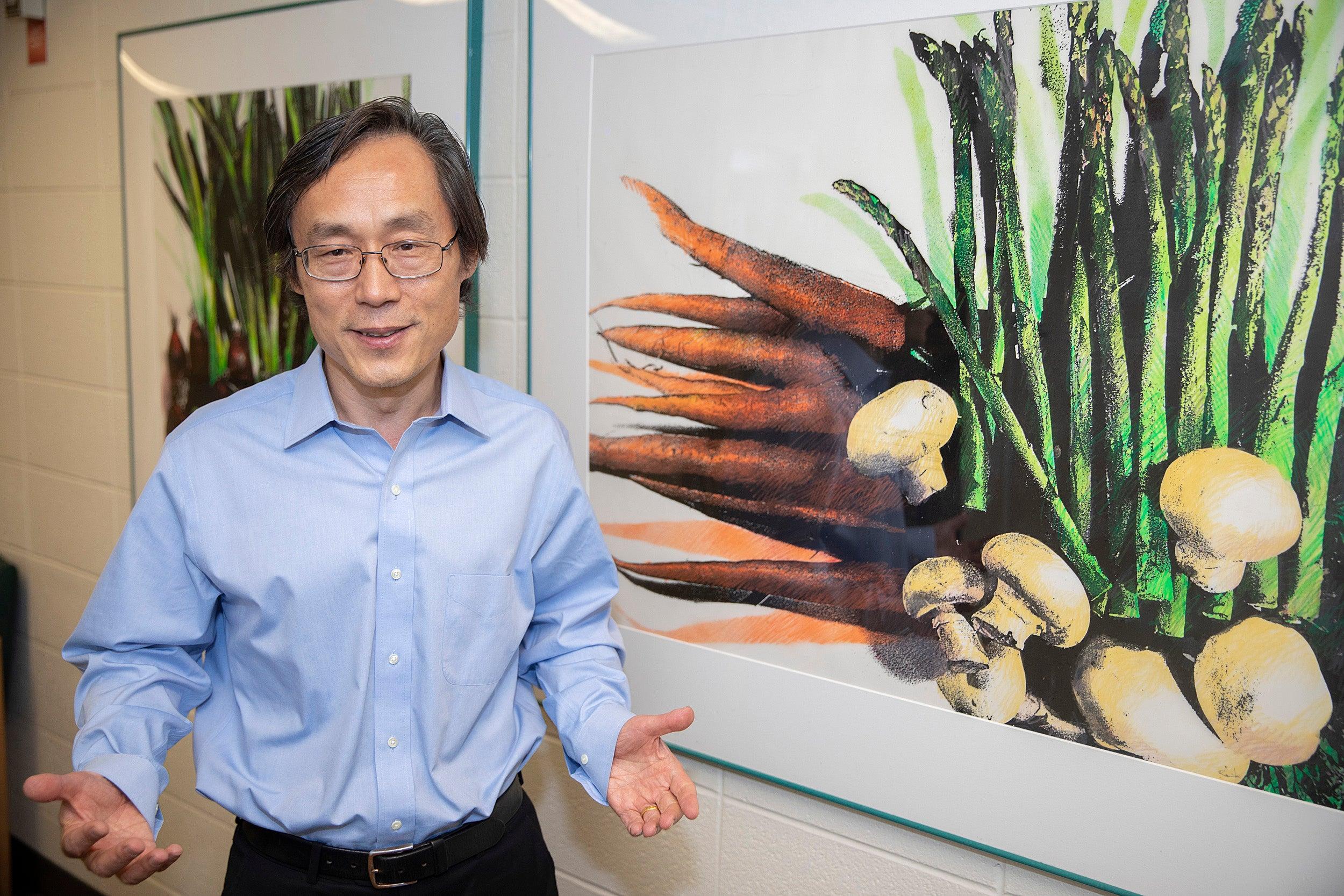 Professor Frank Hu.