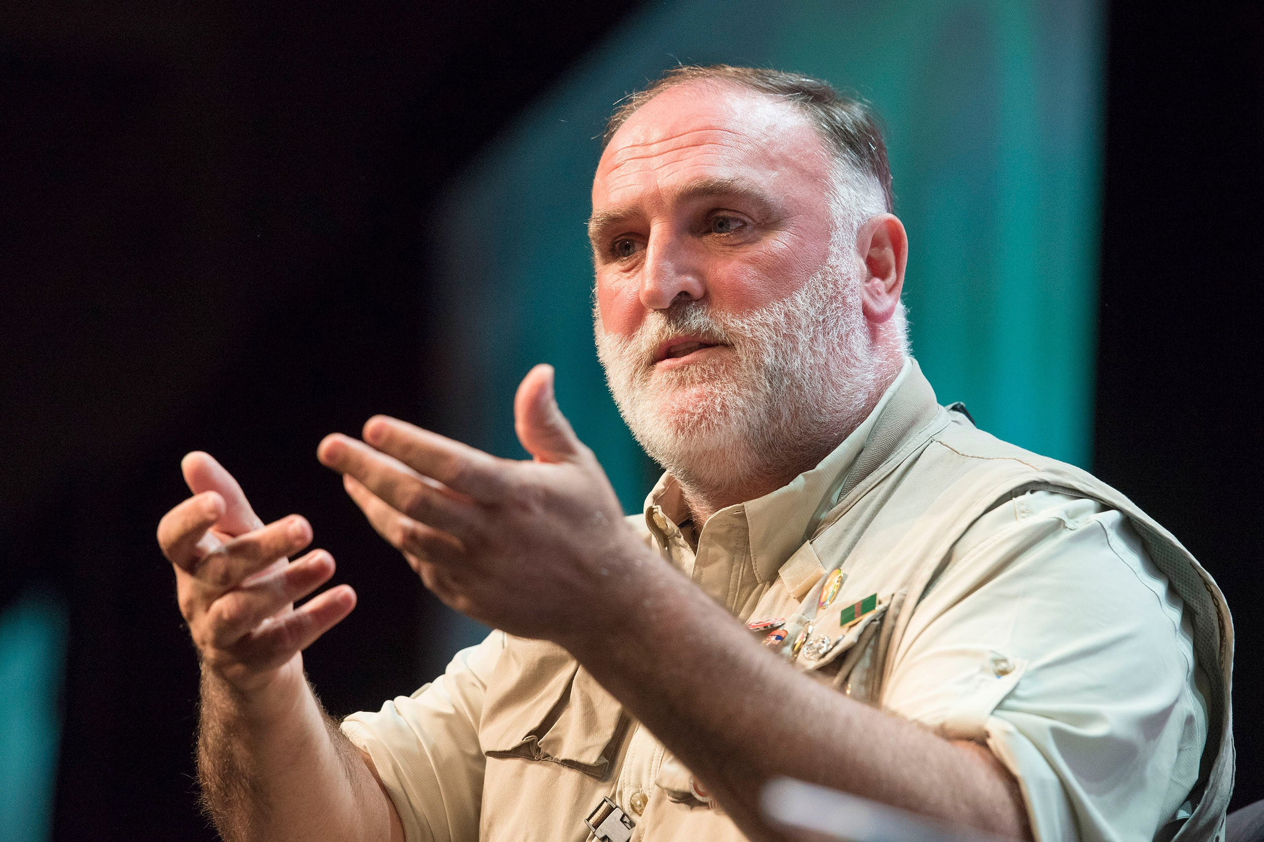 Chef and restaurant owner Jose Andres.