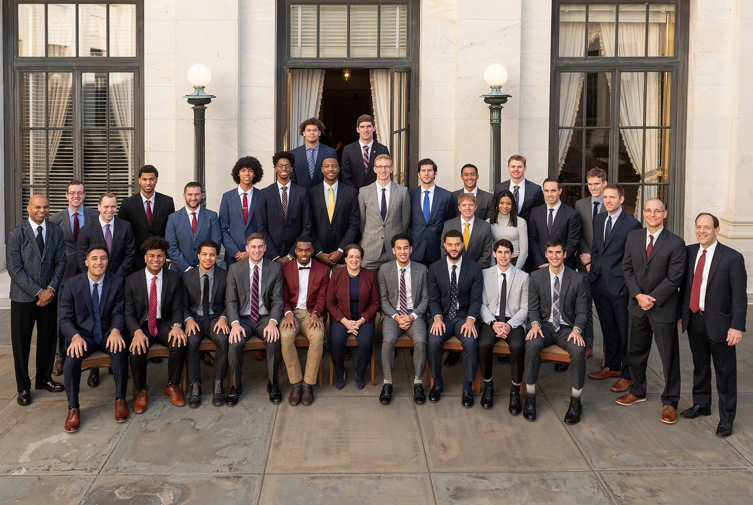 Harvard basketball team.